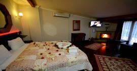 ağva asmalı köşk otel şömineli odaları