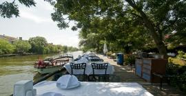 ağva riverside club otel nehir kenarında