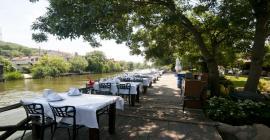 ağva riverside club otel nehir kenarı