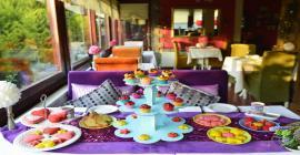 ağva sweet home otel yeme içme